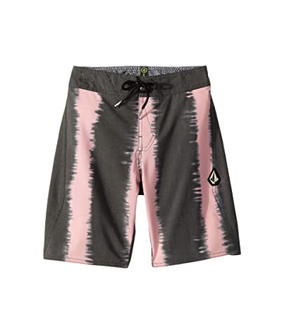Volcom Kids Vert Vibes Boardshorts (Big Kids) (Asphalt Black) Boy