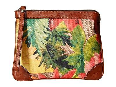 Patricia Nash Straw Cassini Wristlet (Spring Multi) Wristlet Handbags