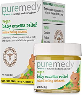 Puremedy Baby Eczema Treatment Relief Salve - Vegan, Homeopathic Remedy for Temporary Soothing Relief of Itchy, Dry Skin (...