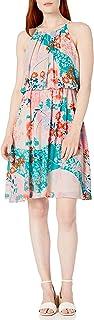 فستان لل نساء مقاس M , احمر - فساتين عملية كاجوال Tango/Aruba Multi 8