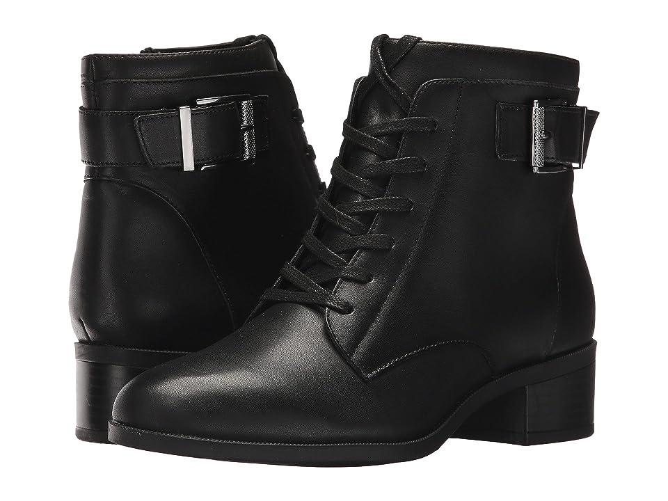 Bandolino Biagio (Black Leather) Women