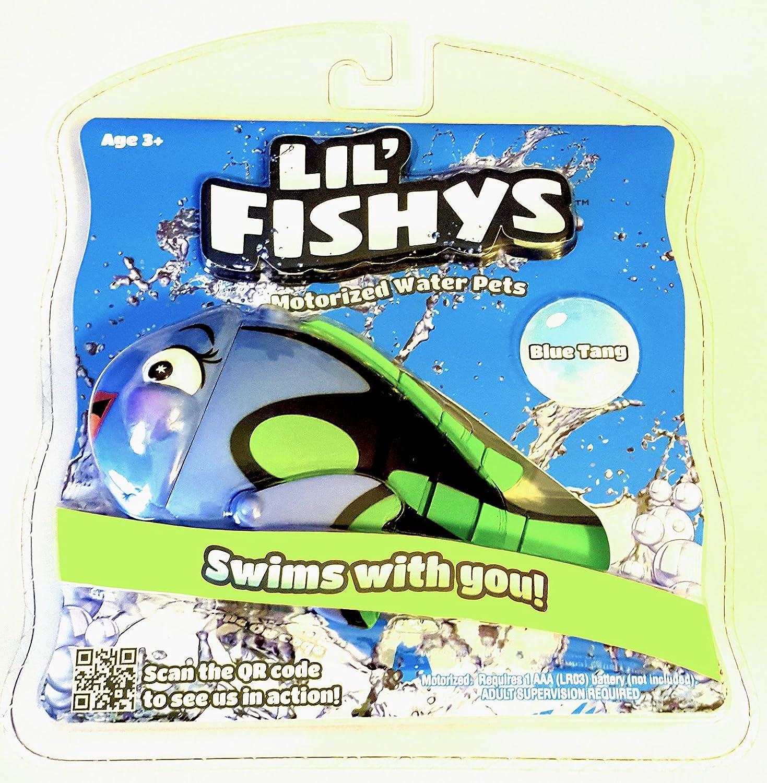 Lil Fishys bluee Tang Motorized Water Pets by Lil' Fishys
