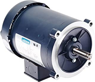 Leeson 102860.00 General Purpose C Face Motor, 3 Phase, S56C Frame, Round Mounting, 1/2HP, 1800 RPM, 208-230/460V Voltage, 60Hz Fequency