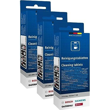 3 x 10 Tablettes de nettoyage originales pour machines à café Bosch Siemens Neff Gaggenau