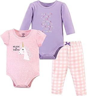 Luvable Friends Unisex Baby Cotton Bodysuit and Pant