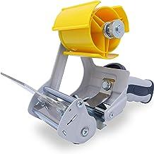 gws Professionele plakbandafroller met stevig metalen frame, veiligheidsmes en rubberen ergonomische handgreep, voor rolle...