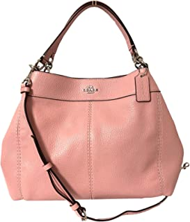 Pebbled Leather Small Lexy Shoulder Bag Handbag