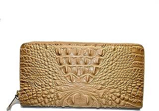 Skyler Croco Emb leather Lg Clutch Wristlet Honeycomb Melbourne