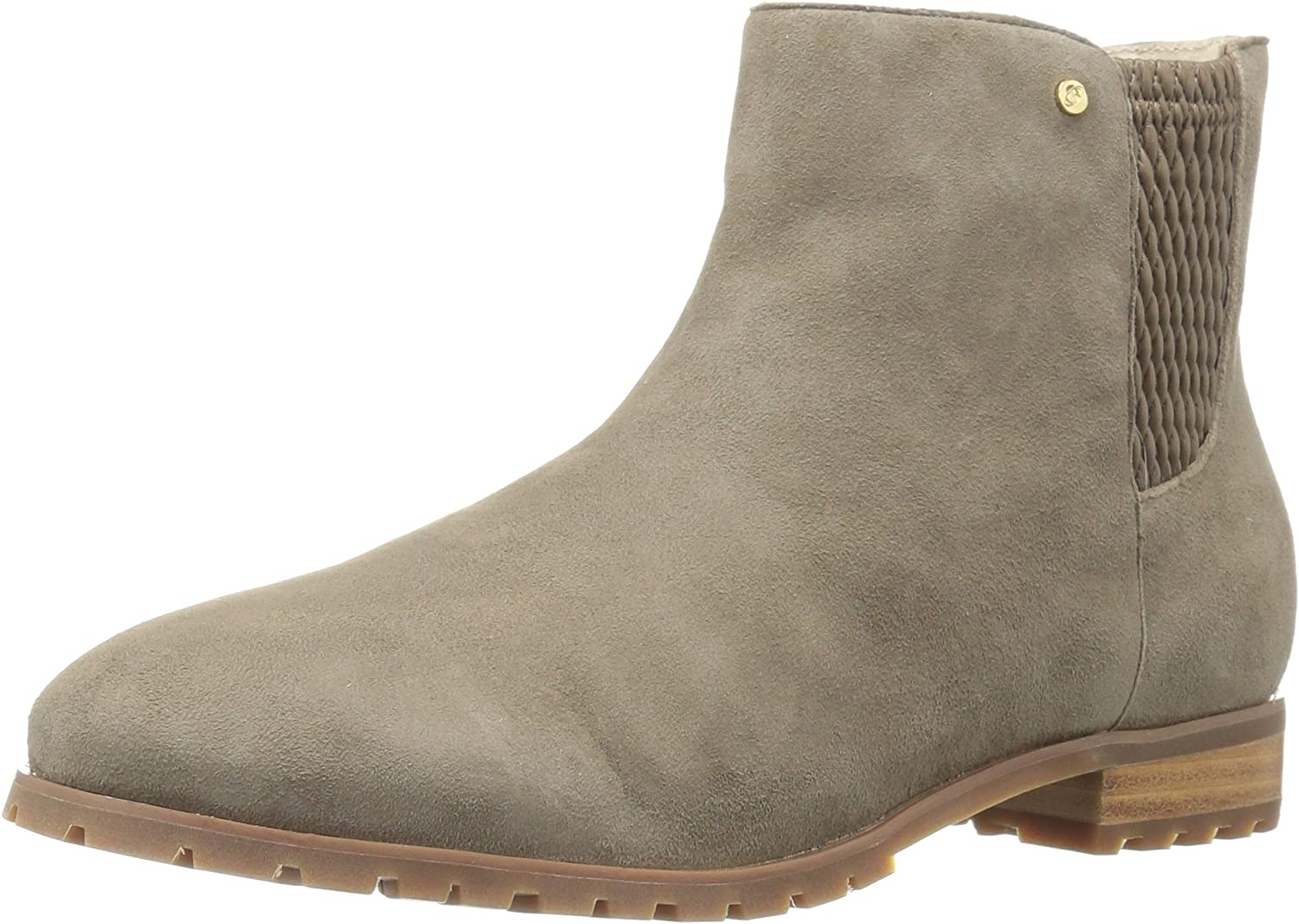 Sudini Women's Fiona Ankle Bootie Taupe