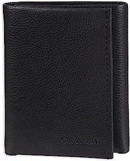 Calvin Klein Men's RFID Leather Trifold Wallet