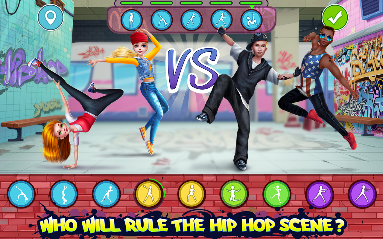 Hip Hop Battle - Girls vs. Boys Dance Clash