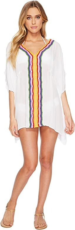 Nanette Lepore Peace & Love Caftan Cover-Up