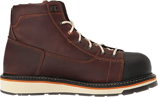 Red/Brown Full-Grain Leather