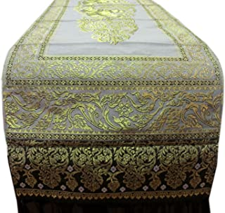 RoyalThaiElephant Beautiful Thai Silk Table/Bed Runner Width 19 INCHES Length 72 INCHES