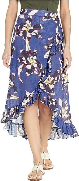 Lily Ruffle Wrap Skirt