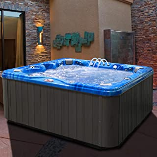 American Spas AM-756BP 6-Person Hot Tub, Pacific Rim and Mist
