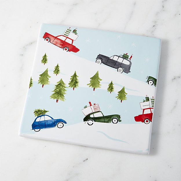 Christmas Trivet | Crate and Barrel
