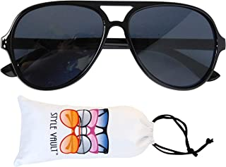 Kd37 Infant Toddlers Age 0~36 Months Turbo Aviator Baby Sunglasses