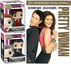 Vivian + Edward romantic Pretty Woman DVD Julia Roberts Romance + Pop Figures Red Dress & Tuxedo 2 Pack date night Collectibles