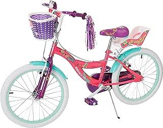 Benotto Bicicleta Flower Power Cross Acero R20 1V Niña Frenos V Canastilla, Salpicadera