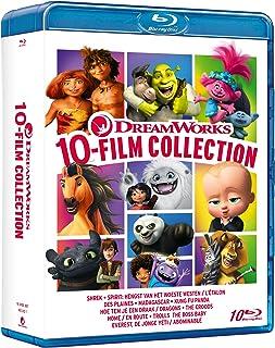 Dreamworks 10 Movie Collection ( Box 10 Br) (Spirit,Shrek,Baby Boss,Trools ) [Italia]