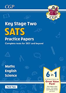 New KS2 Complete SATS Practice Papers Pack 2: Science, Maths & English