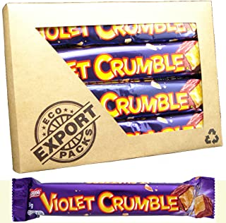Violet Crumble 50gm (Pack of 7) Australian Honeycomb Bar by Nestle
