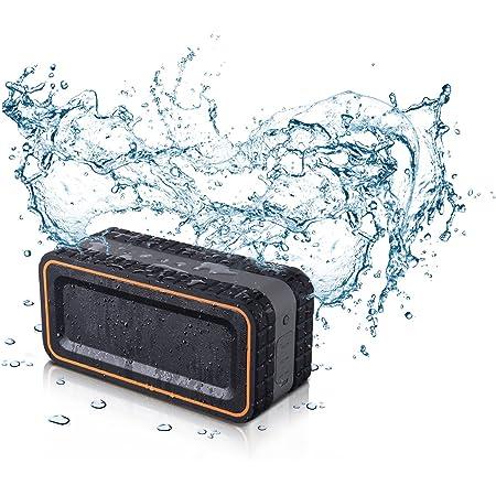 Turcom AcoustoShock 30 Watt Rugged Water Resistant Wireless Bluetooth Speaker. Shockproof, Dirt-Proof and Dust-Proof Wireless Speaker with Latest Bluetooth 4.0 Technology (TS-903)