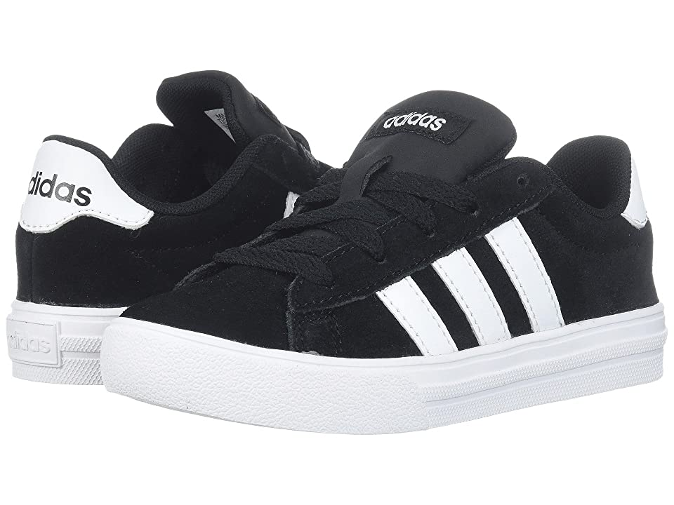 adidas Kids Daily 2.0 (Little Kid/Big Kid) (Black/White/Black) Kids Shoes