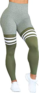 Bombshell Sportswear High Waist Thigh-High Leggings - Olive
