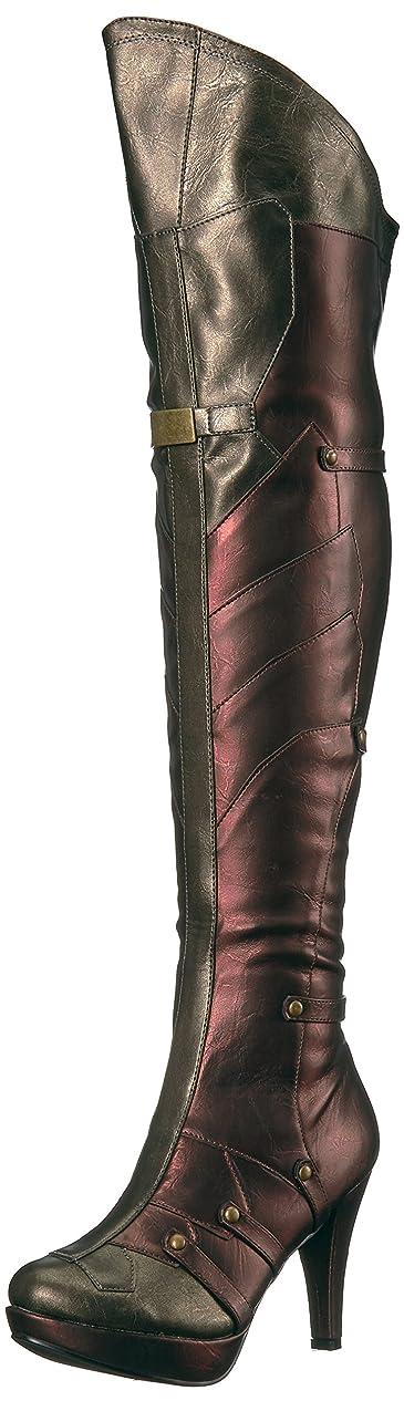 日休憩制限4 Inch Womens Thigh High Boot