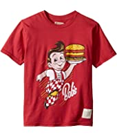 The Original Retro Brand Kids - Bob's Vintage Cotton Short Sleeve Tee (Big Kids)
