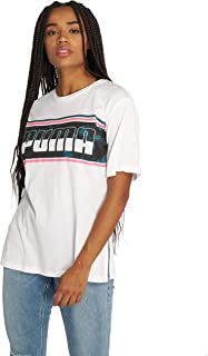 PUMA REBEL Boyfriend Logo Tee