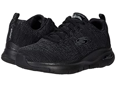 SKECHERS Arch Fit Paradyme (Black/Black) Men