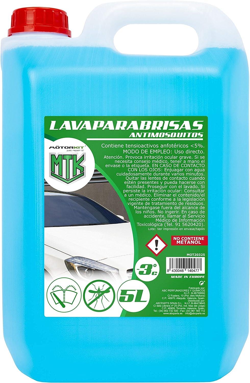 840000 - MOTORKIT FABRICACION QUIMICOS MOT20325 LAVAPARABRISAS 5LANTIMOSQUITO