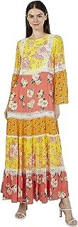 Iconic Women's 2091068 SS23PRTRMXD Woven Cocktail Dress, Multicolor