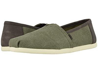 TOMS Alpargata 3.0 (Olive Washed Canvas) Men