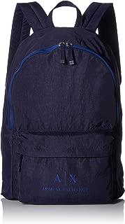 Armani Exchange Men's Crinkle Nylon Backpack