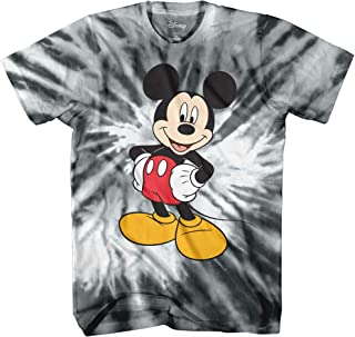 Men's Classic Mickey Mouse Full Size Graphic Short Sleeve T-Shirt