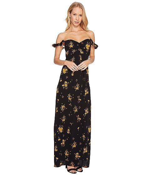 FLYNN SKYE Carla Maxi Dress, Sunrise Poppy
