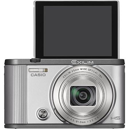 CASIO デジタルカメラ EXILIM EX-ZR1700SR 自分撮りチルト液晶 オートトランスファー機能 Wi-Fi/Bluetooth搭載 シルバー