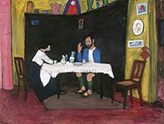 Gabriele Munter Kandinsky and Erma Bossi, After Dinner 1912 Stadtische Galerie im Lenbachhaus Munich 30