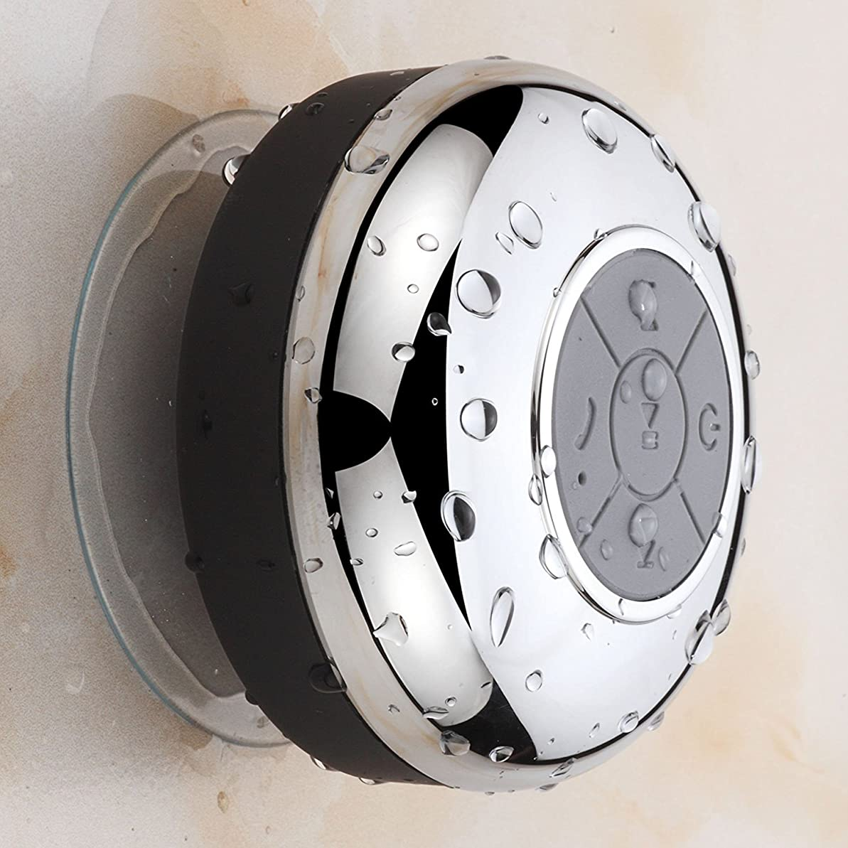 ベスト天国失態(ホテルスパ) HotelSpa?クロムIPX4防水Bluetoothシャワースピーカー