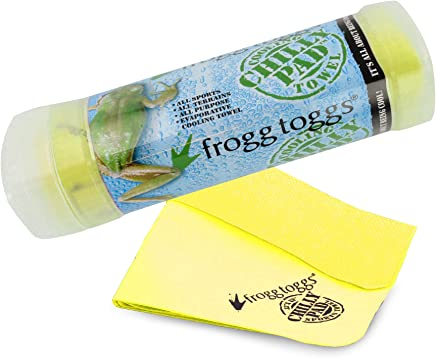 Frogg Toggs 647484008810 Chilly Pad Cooling Towel, 33 Length x 13 Width, Hi-Vis Yellow by Frogg Toggs