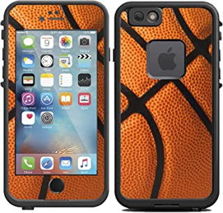 Teleskins Protective Designer Vinyl Skin Decals for Lifeproof Fre iPhone 6 / 6S Case - Basketball Design - only Skins and not Case