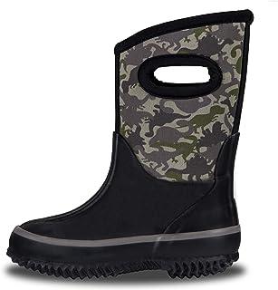 LONECONE Kids' All-Weather Neoprene Mud Boots - Rain, Muck, Snow