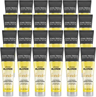 John Frieda Sheer Blonde Go Blonder Lightening Conditioner, 2 Ounce (Pack of 24)