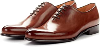 Men's Martin Wholecut Oxford Dress Shoes, Italian Calfskin Leather