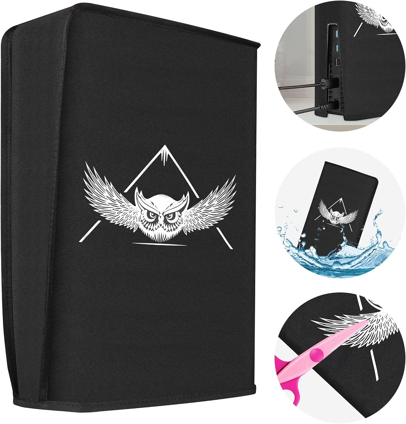 Max 52% OFF MASiKEN Dust Cover for Max 41% OFF PS5 Digital Edition Waterproof and Disc