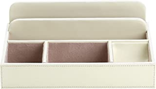 Reed & Barton Tan Suede Interior Jayne Lady's Valet for Storing Jewelry, 12-Inch by 9-Inch by 4-Inch